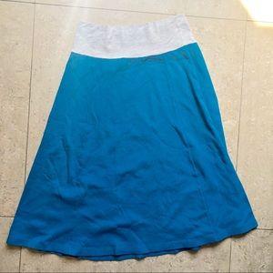American Apparel Skirts - American Apparel long blue skirt